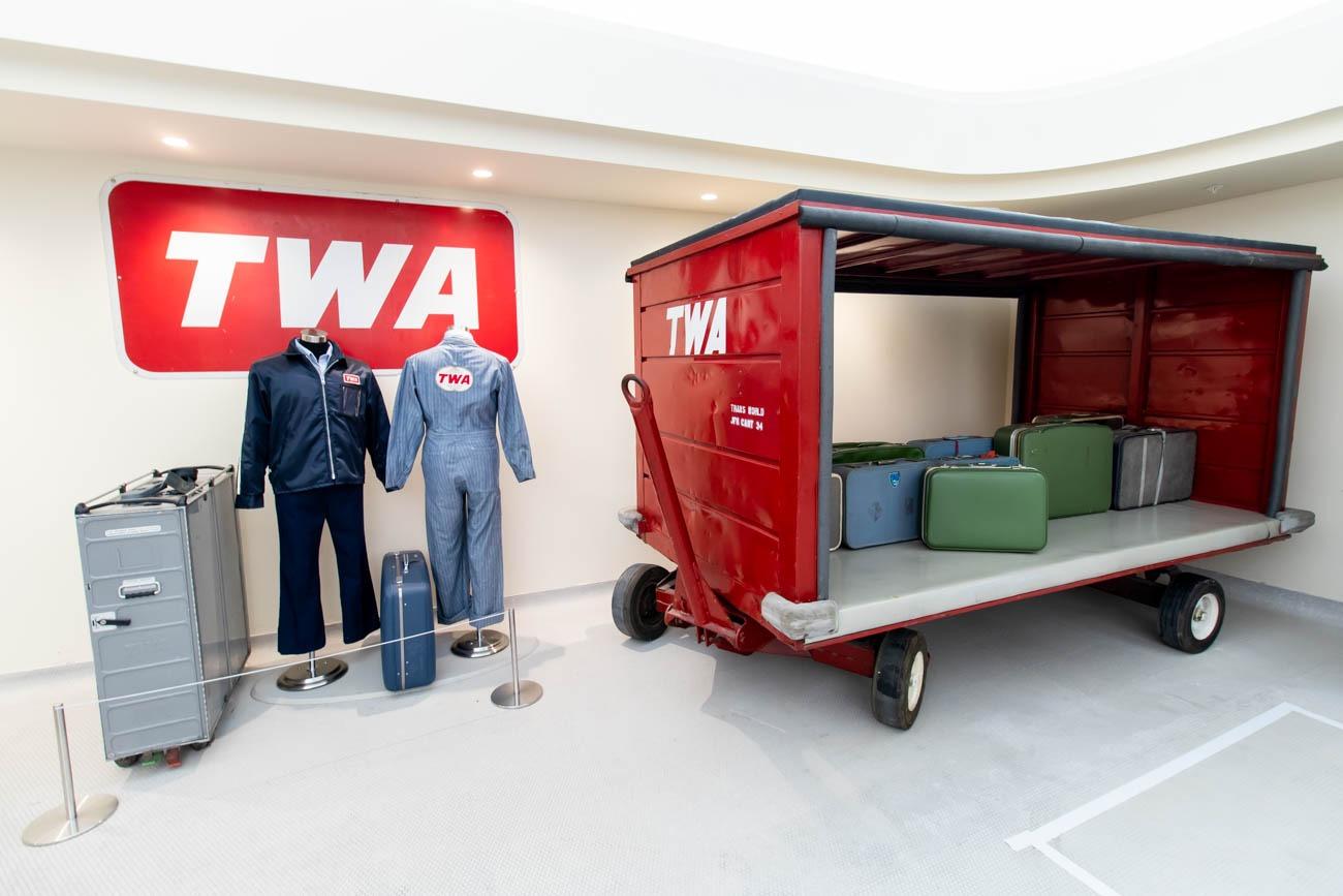 TWA Hotel Memorabilia