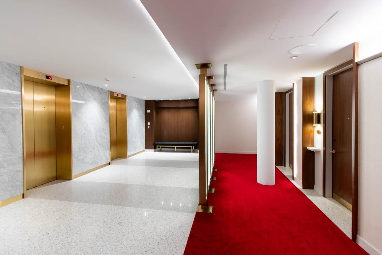 TWA Hotel Elevator Room
