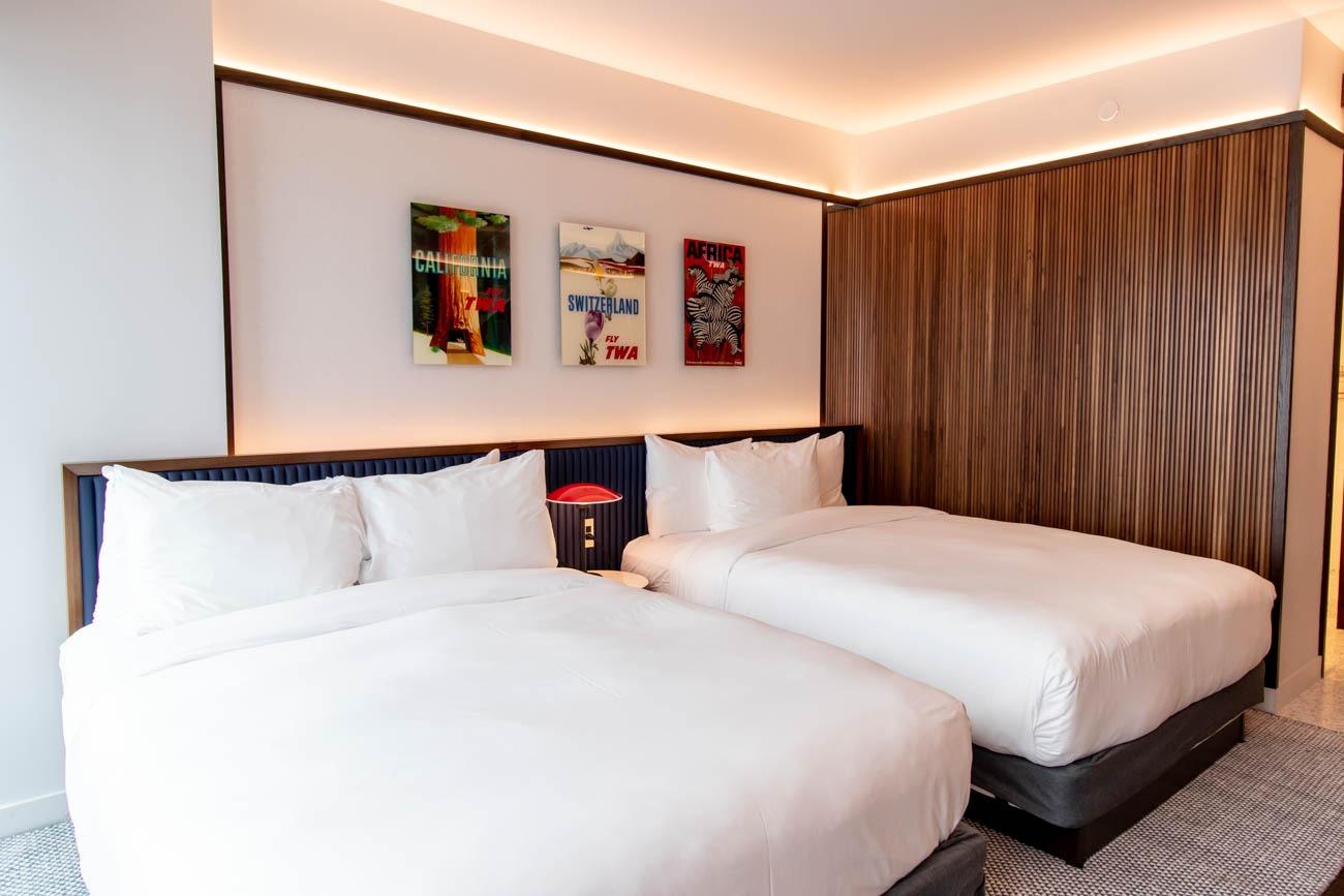 TWA Hotel Beds