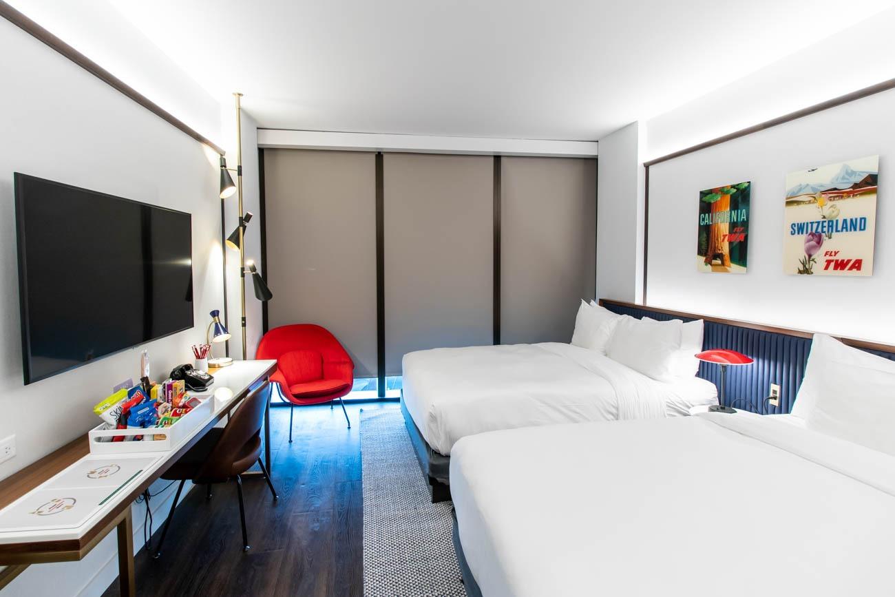 TWA Hotel Room