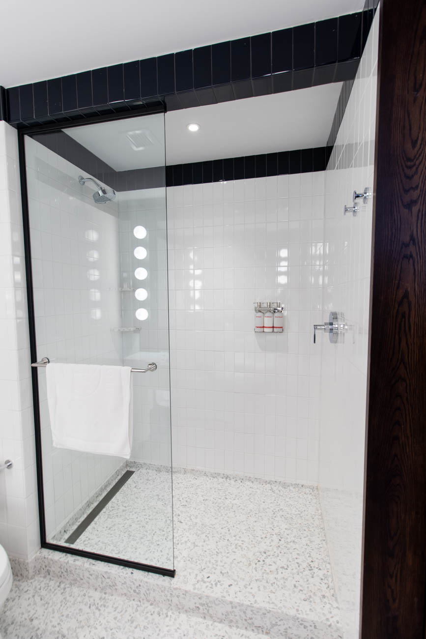 TWA Hotel Shower