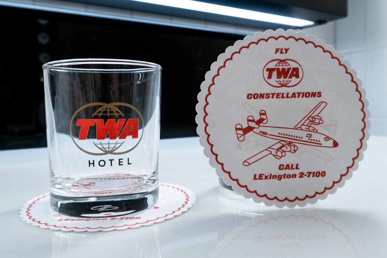 TWA Hotel Glasses