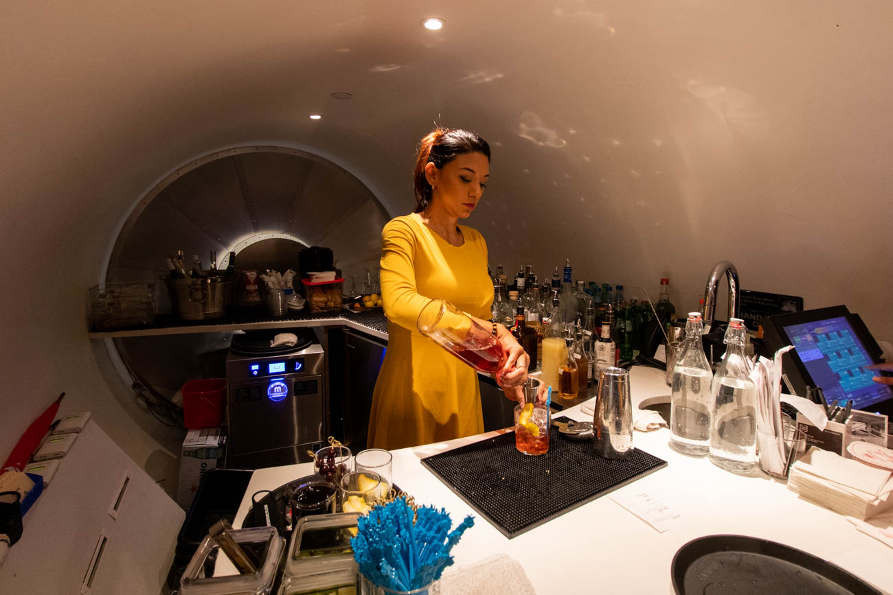 TWA Hotel Connie Cocktail Lounge Bar