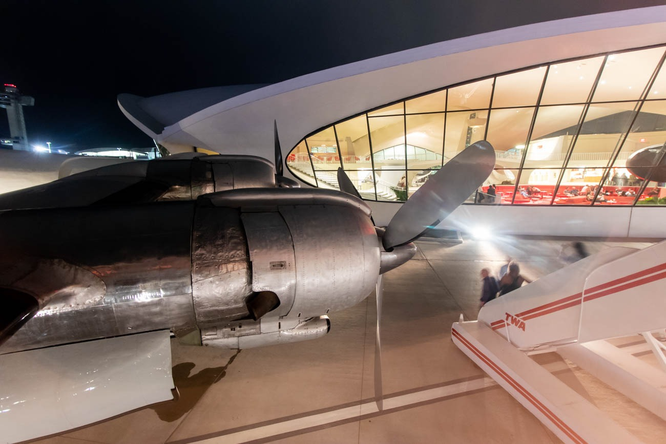 TWA Hotel Connie Cocktail Wingview