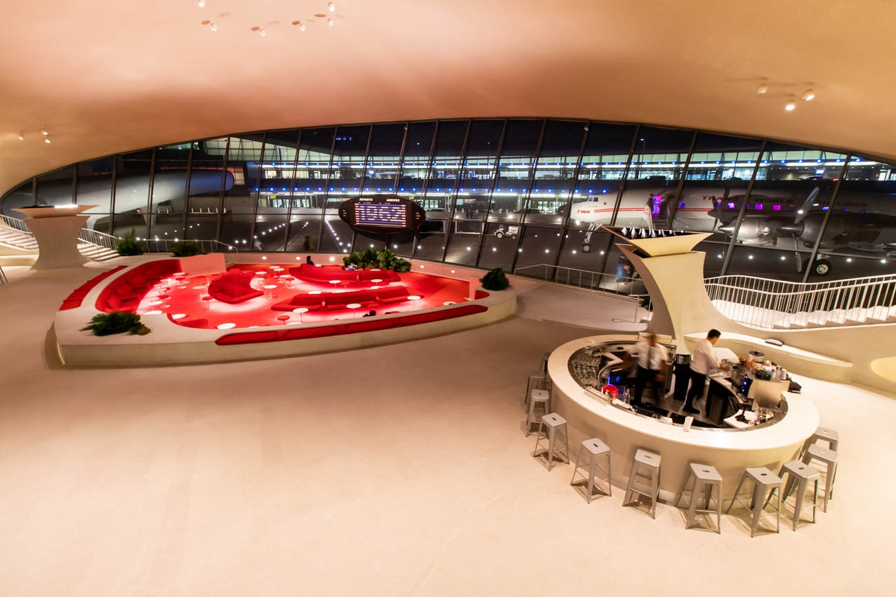 The Sunken Lounge at TWA Hotel