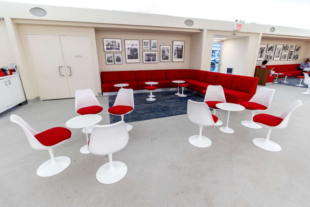 TWA Hotel Lobby Seating