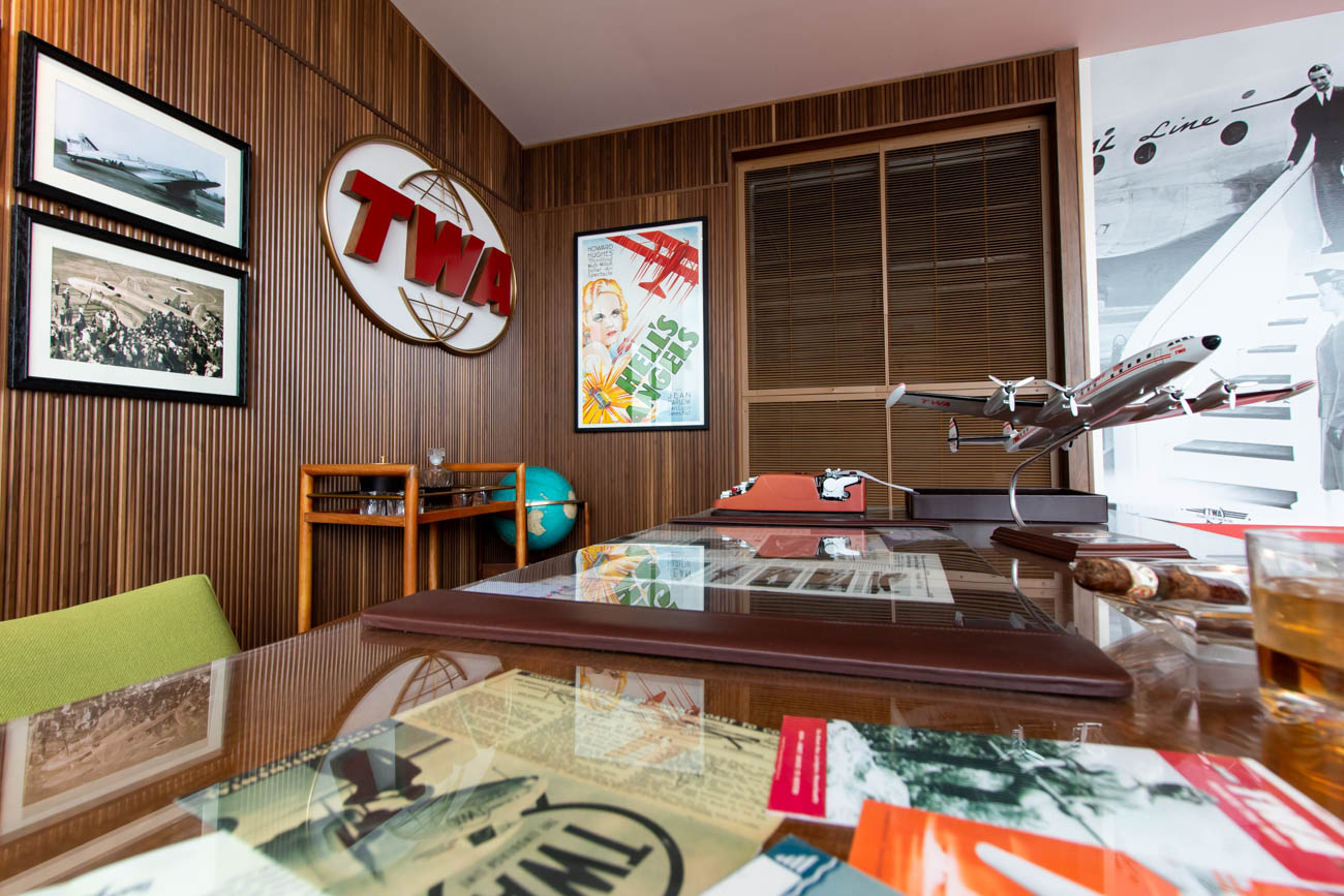 Office of the TWA President at TWA Hotel