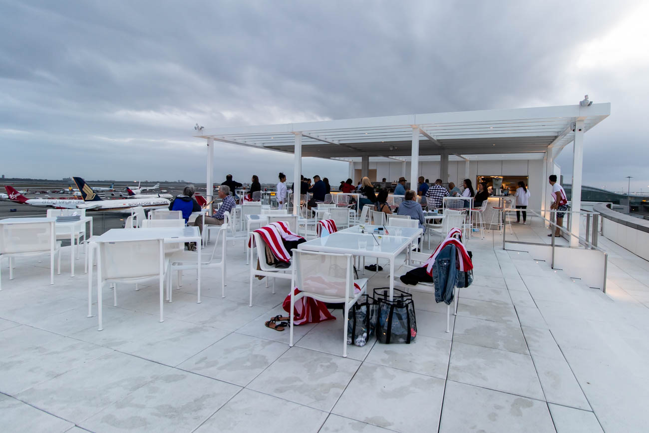 The Pool Bar at TWA Hotel