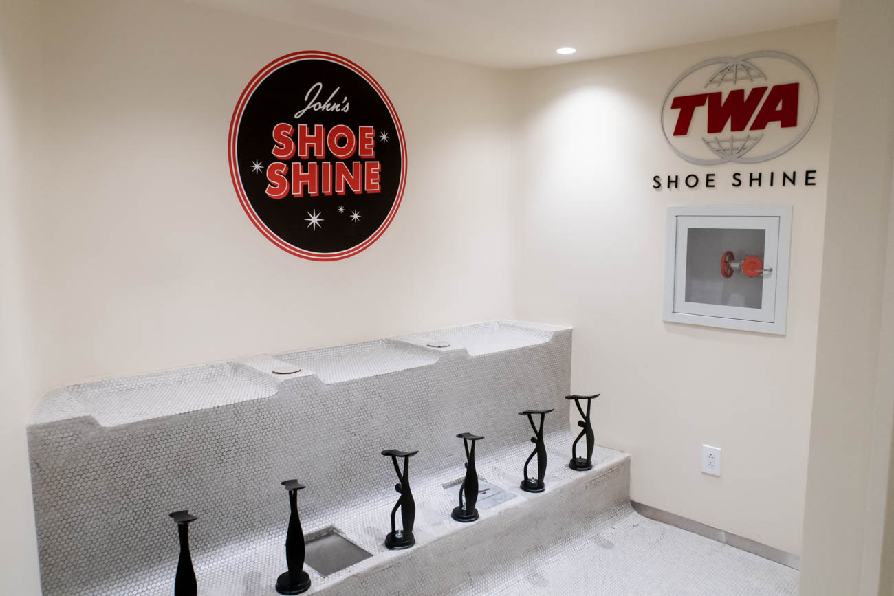TWA Hotel Shoe Shine