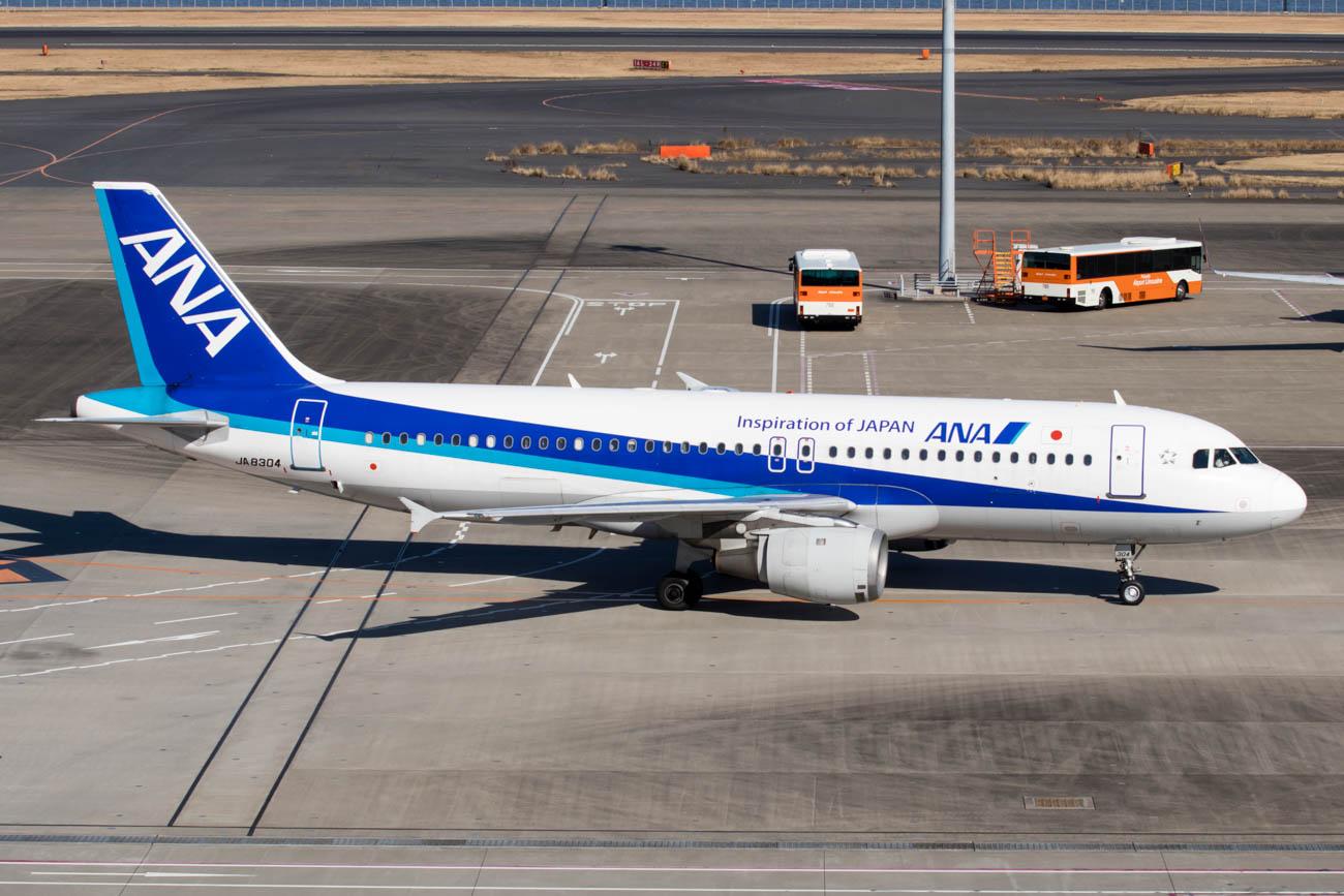 ANA A320 180-Seats