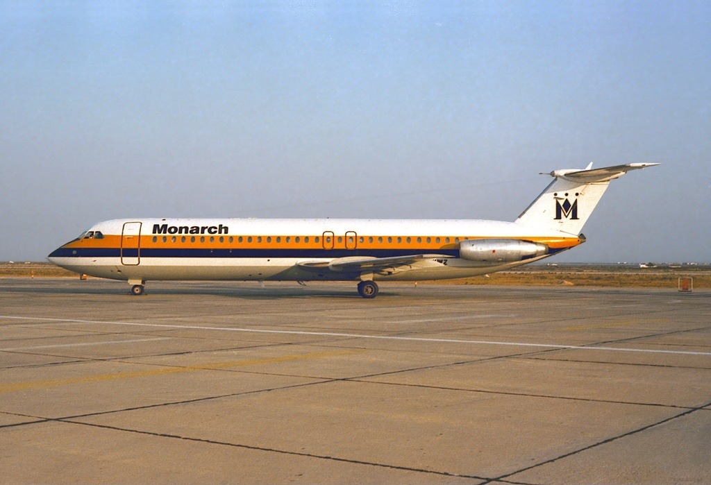 Monarch Airlines BAC-111