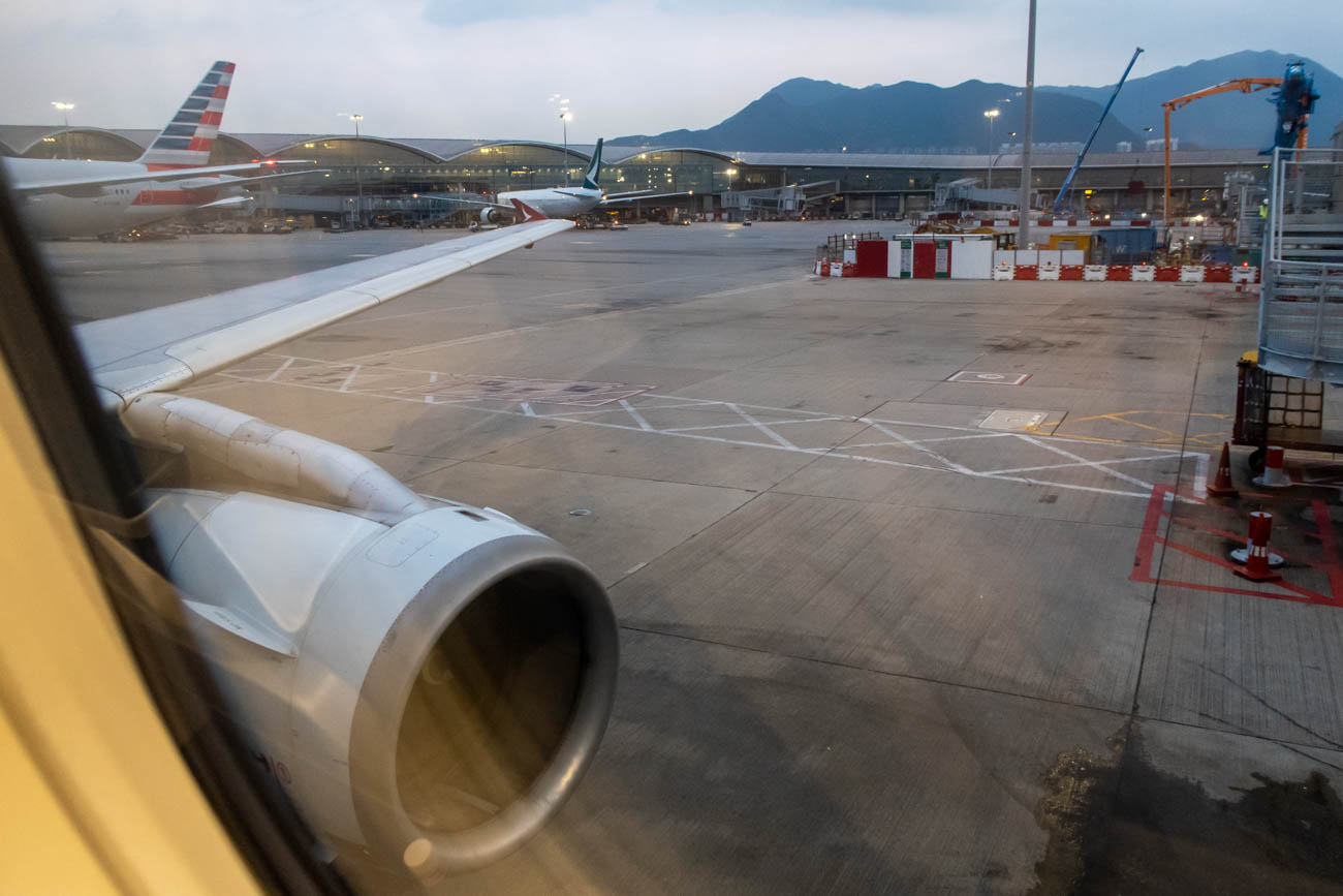 Cathay Dragon A321 at Hong Kong Airport