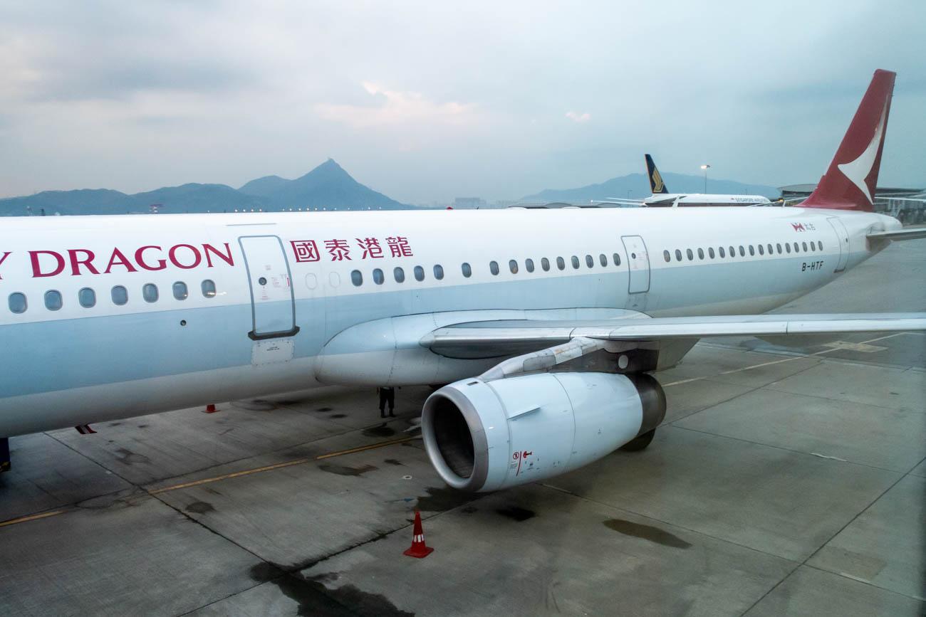 Cathay Dragon Airbus A321