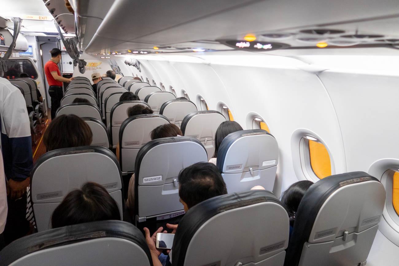 VietJet A321 Cabin