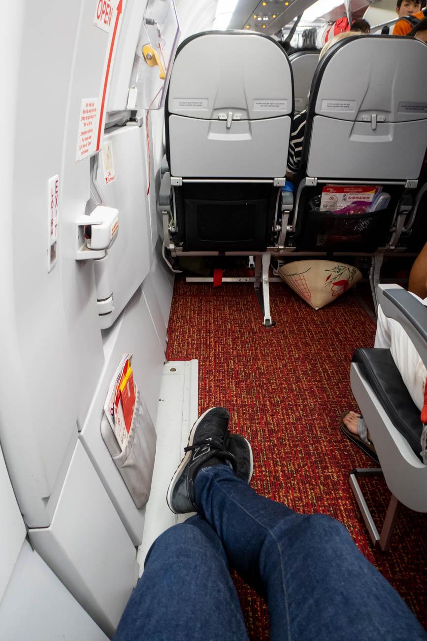 VietJet A321 Extra Legroom Seat 12A