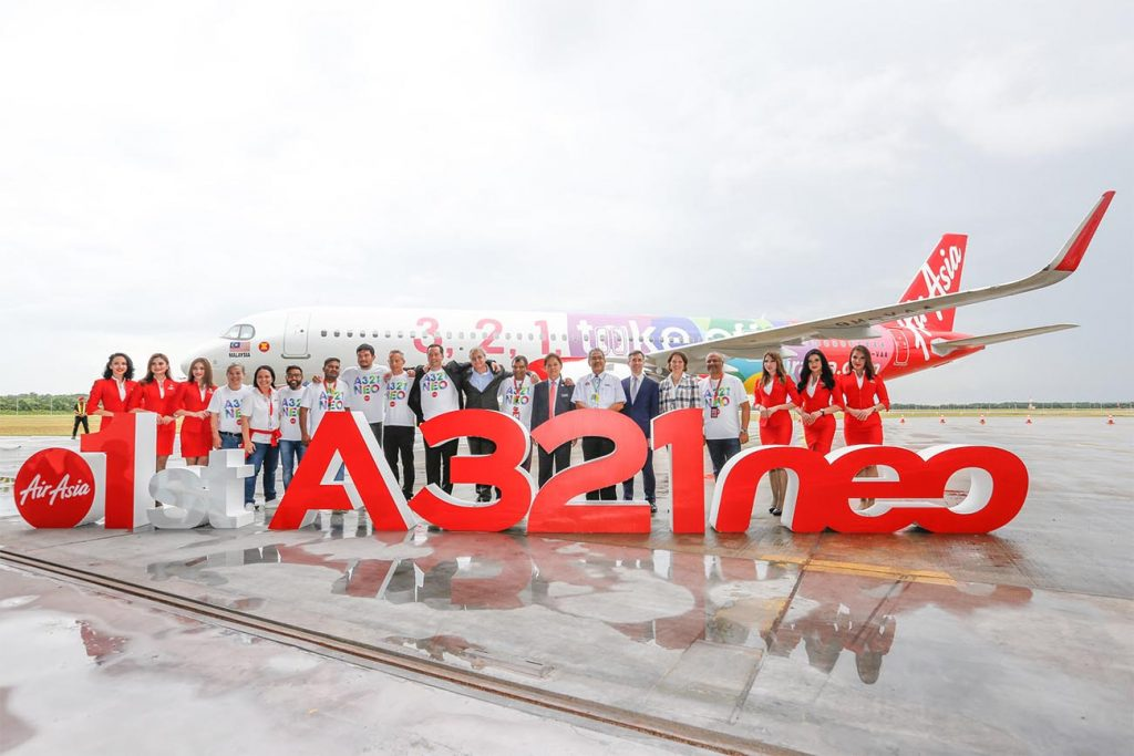 AirAsia's First Airbus A321neo Enters into Service
