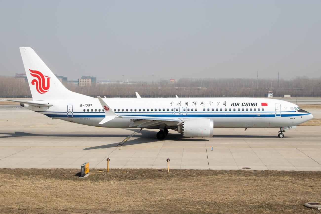 Air China 737 MAX 8