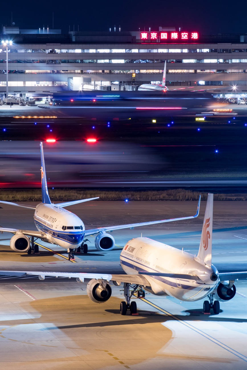 Chinese Airlines at Haneda Airport
