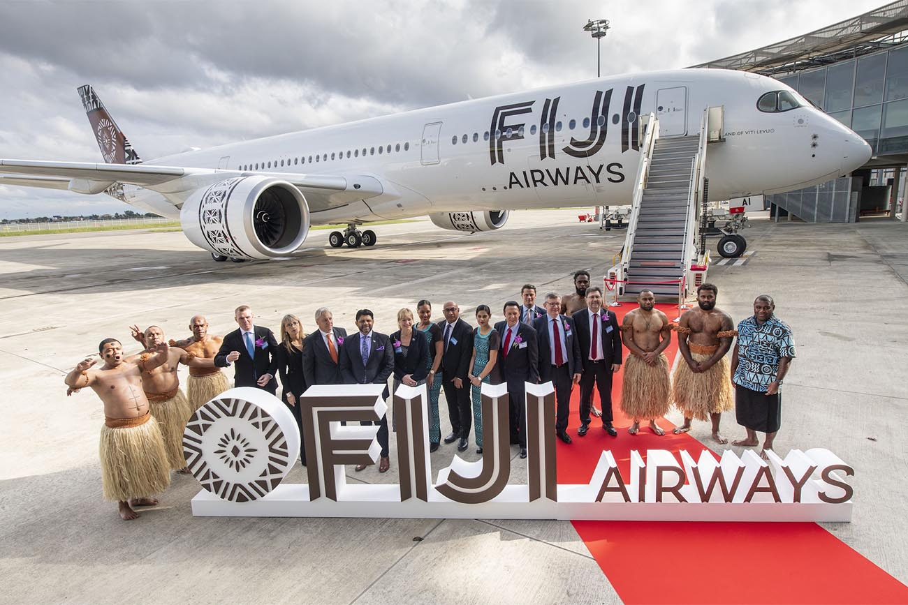 Fiji Airways Receives the First of Its Airbus A350-900s