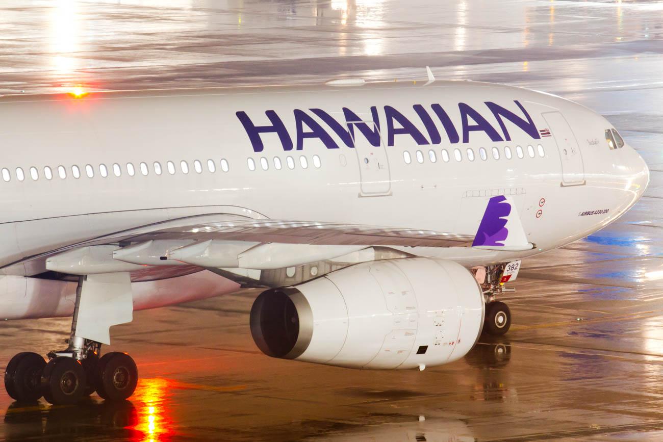 Hawaiian Airlines at Tokyo Haneda