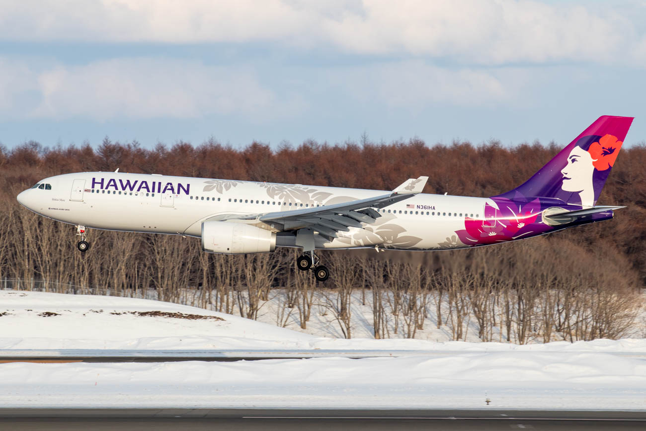 Hawaiian Airlines in Japan