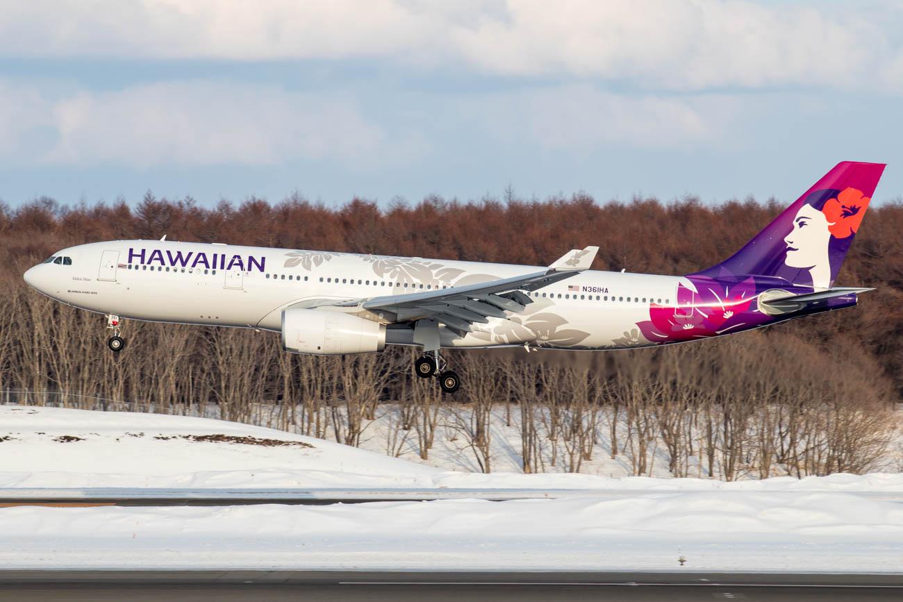 Hawaiian Airlines in Japan