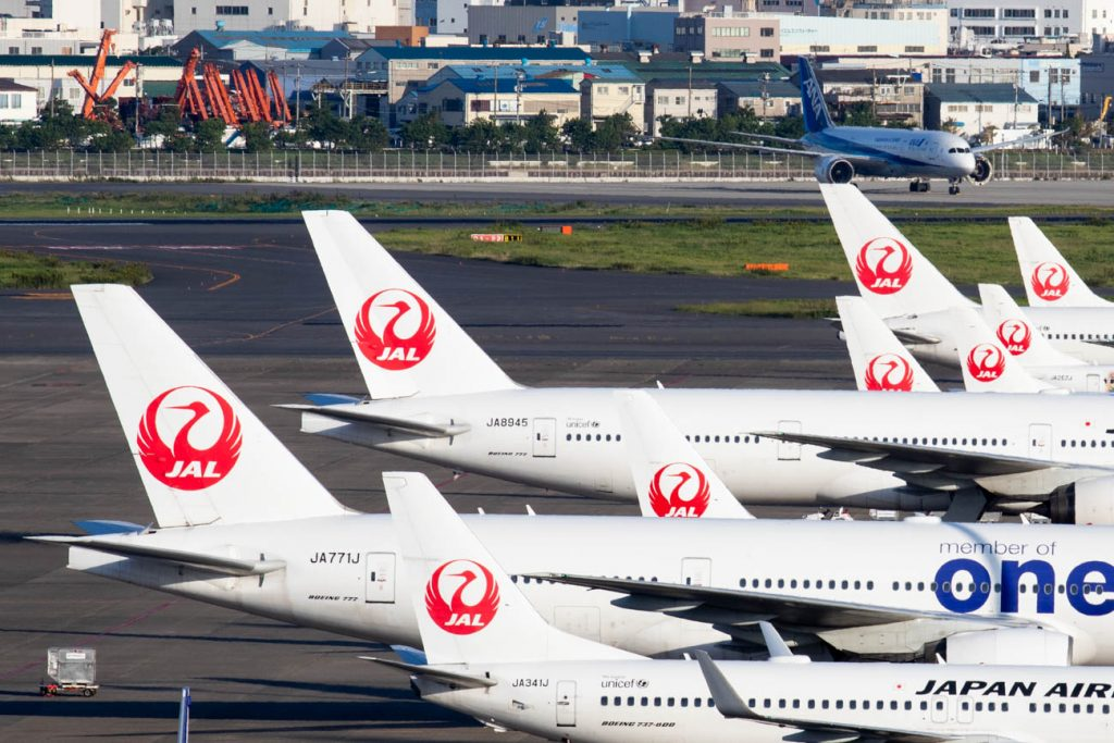JAL's Domestic Traffic Increased