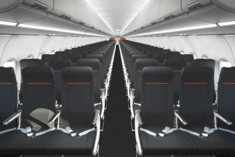 Jetstar Japan A321LR Cabin