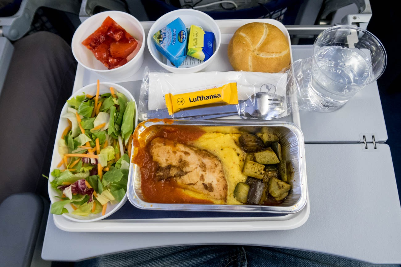 Lufthansa Economy Class Meal