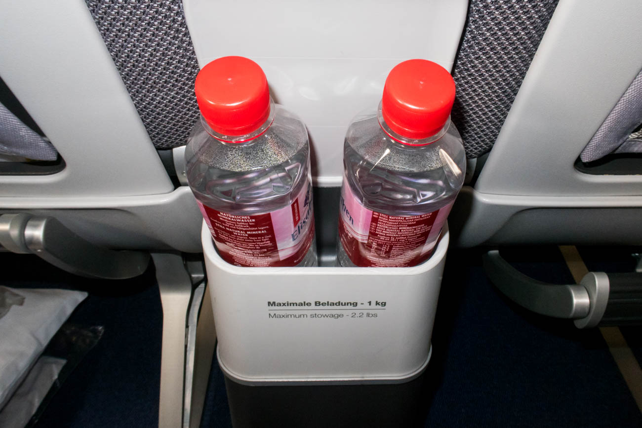 Lufthansa Water Bottle Service