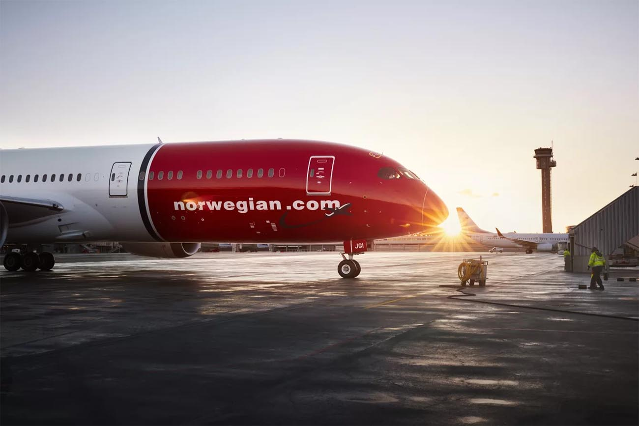 Norwegian Plans to Exit Thailand, Increases Focus on Europe - US Routes