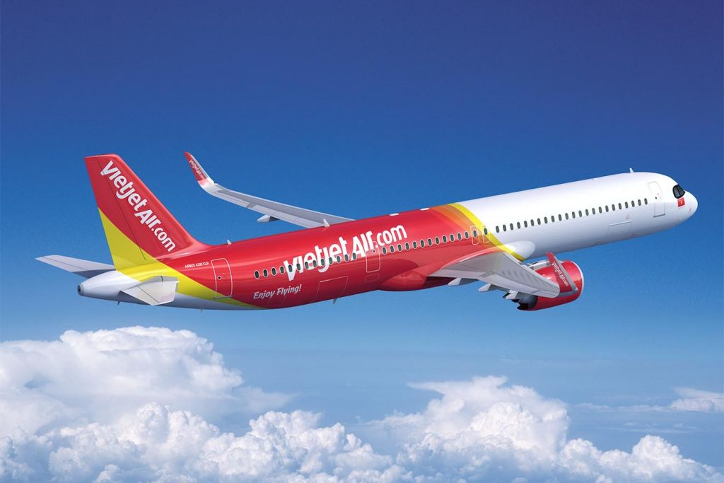 VietJet to Add 20 A321XLRs to Its Fleet, 15 New Orders and 5 Conversions of A321neos in Its Backlog