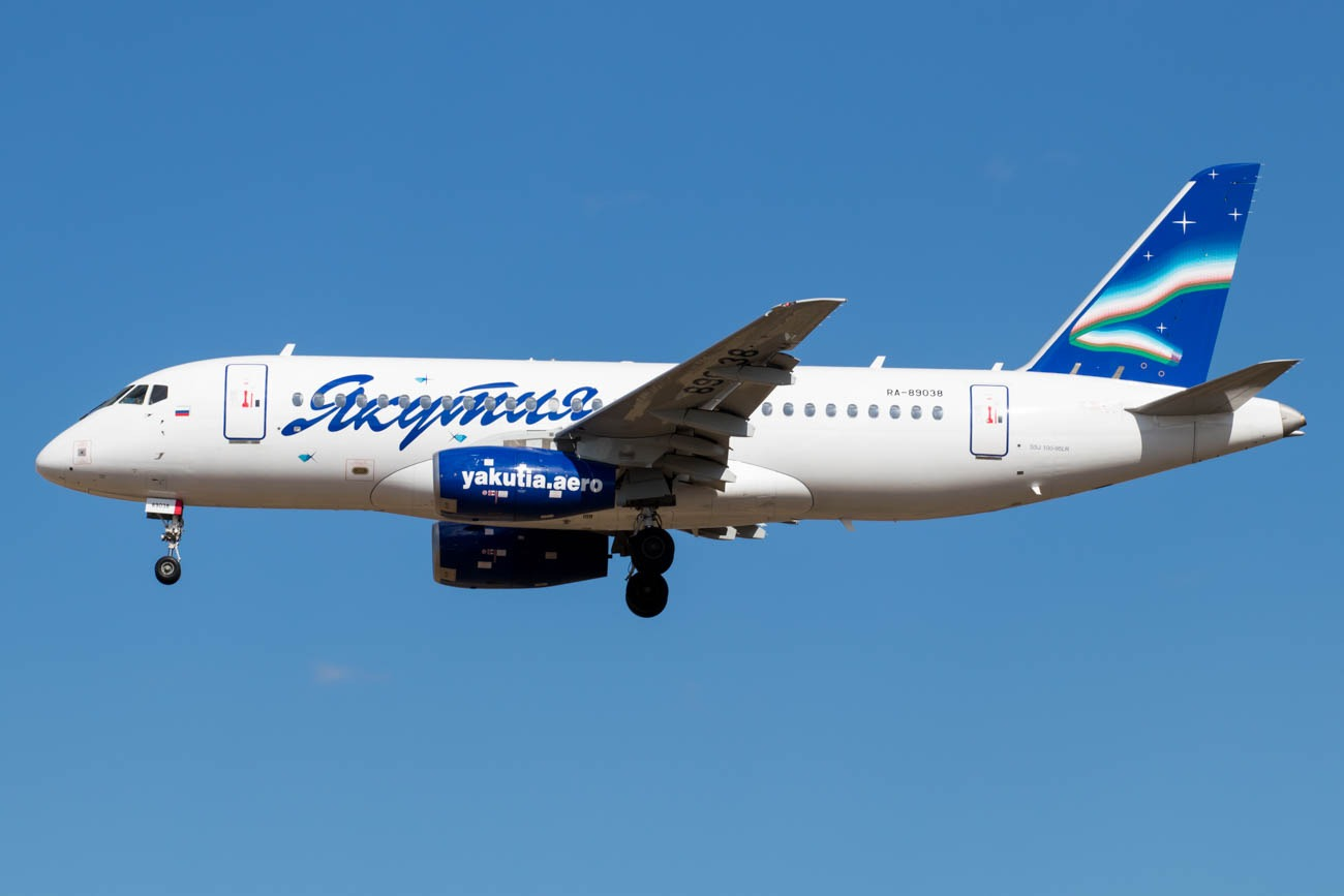 Yakutia Airlines in Japan