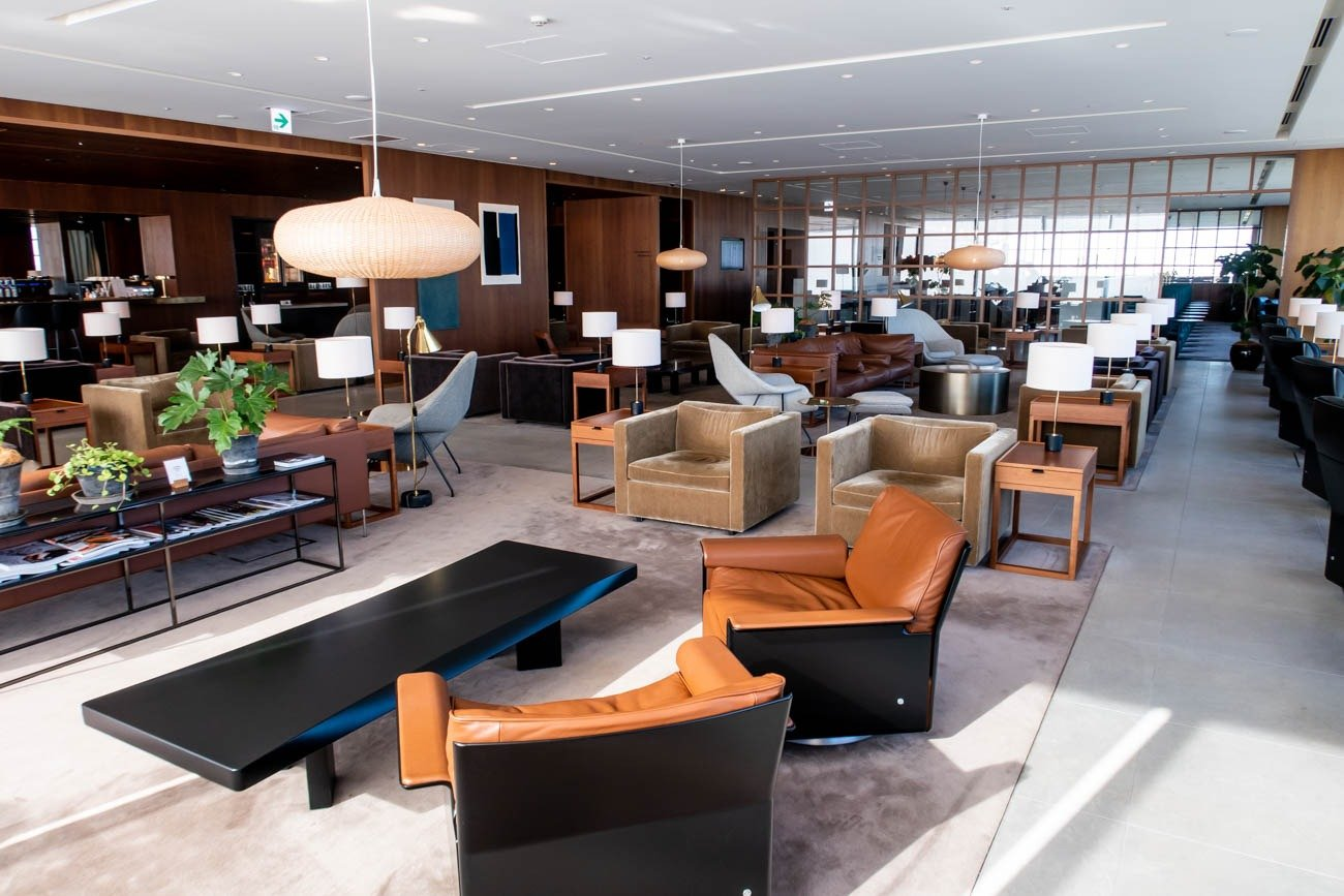 Cathay Pacific Lounge Tokyo Haneda Seating Area