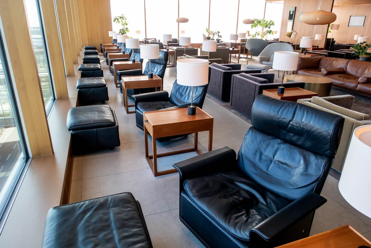 Cathay Pacific Lounge Tokyo Haneda Apron View Seats