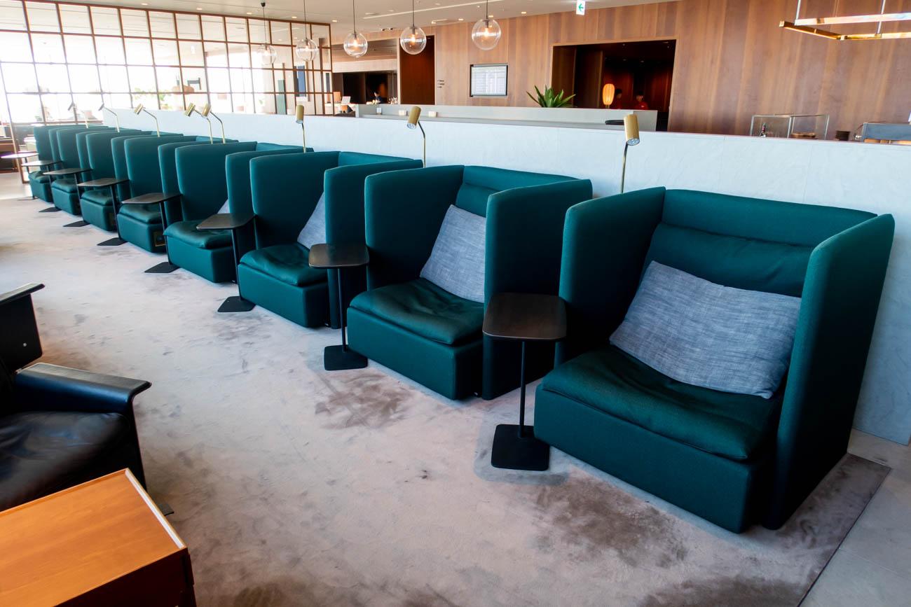 Cathay Pacific Lounge Tokyo Haneda Seating