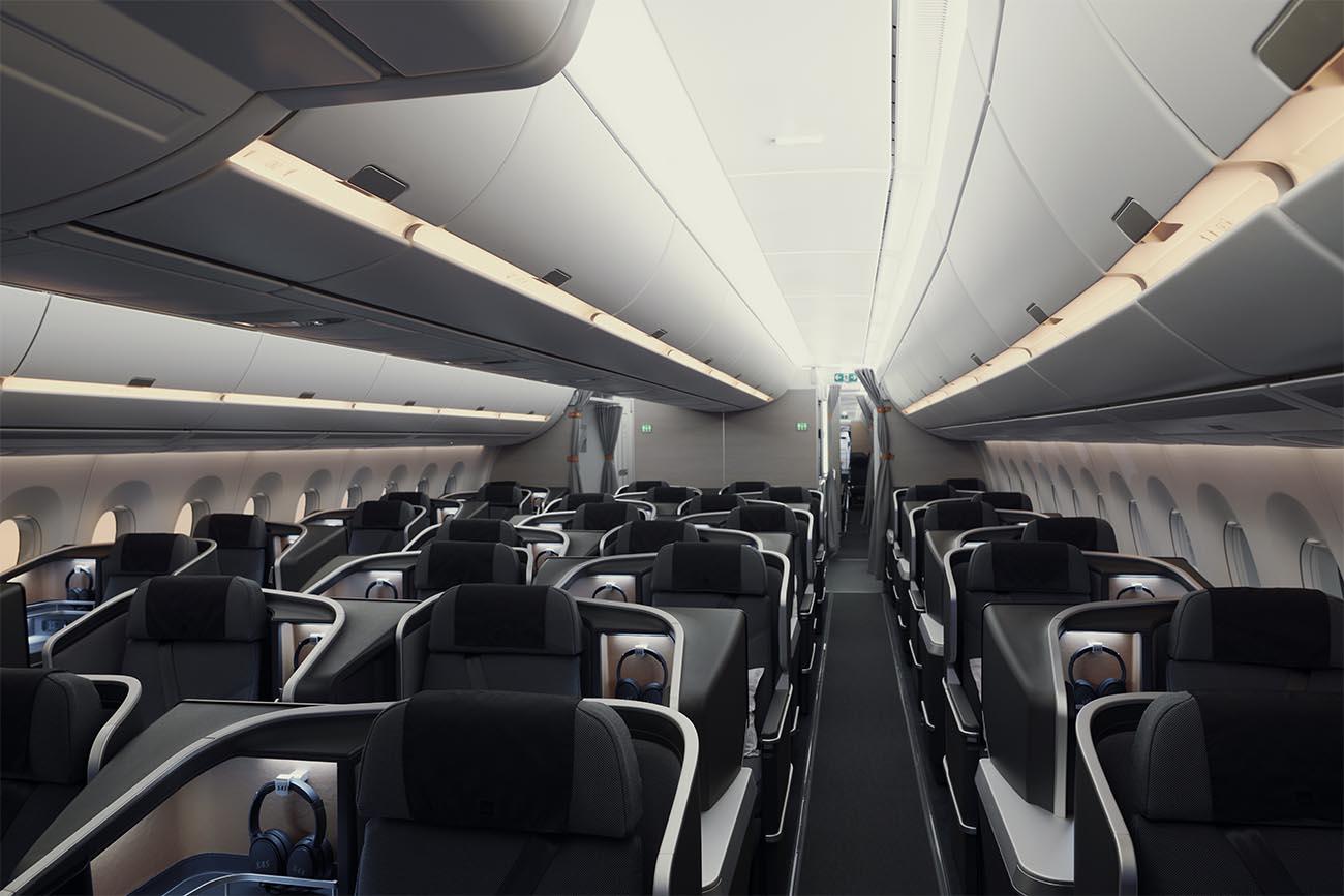 SAS Airbus A350 Business Class