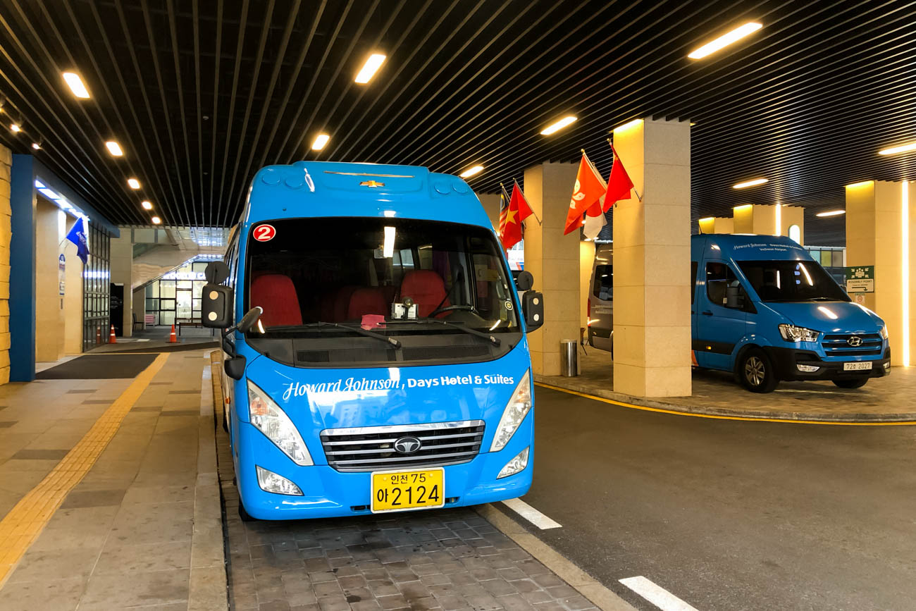 Howard Johnson Incheon Airport Shuttle