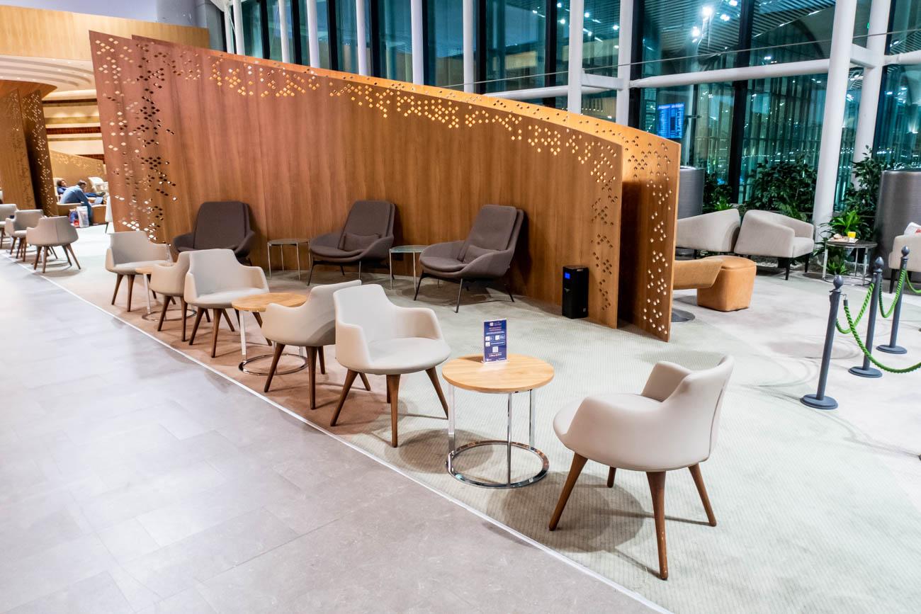 IGA Lounge Istanbul Seating