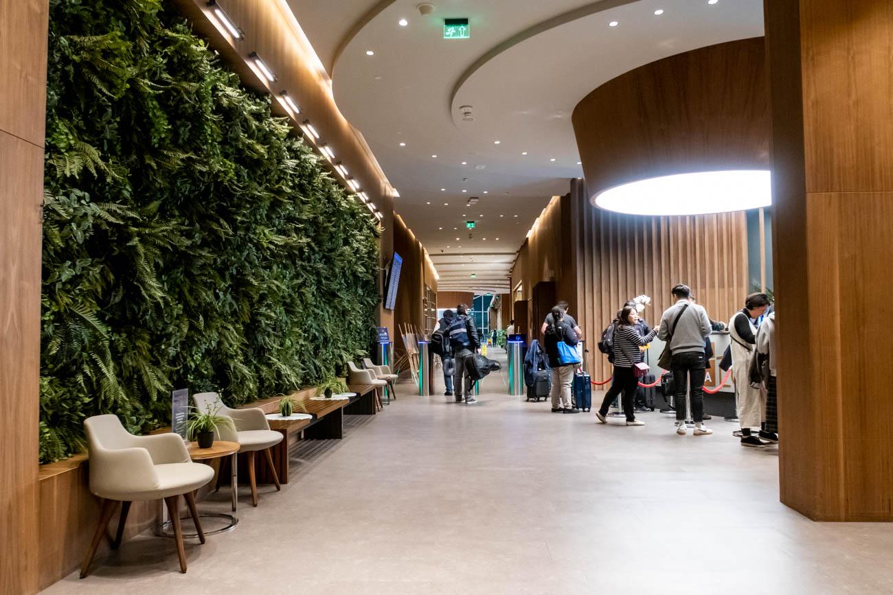 IGA Lounge Istanbul Reception