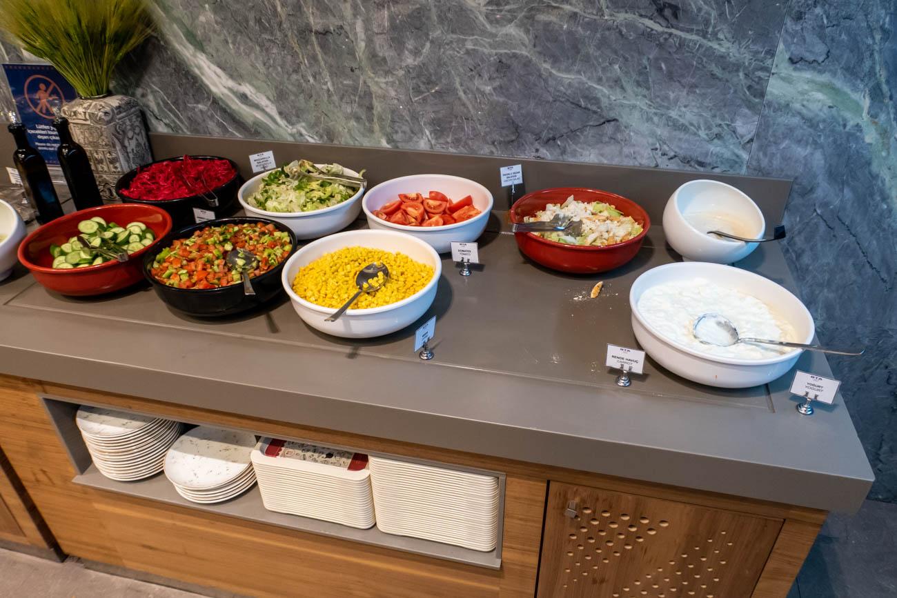 IGA Lounge Istanbul Salads
