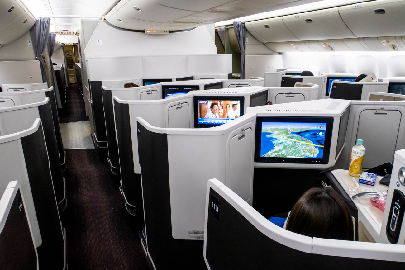 JAL 777-200ER Business Class