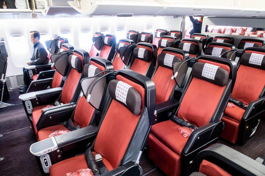 JAL 777-200ER Premium Economy Class
