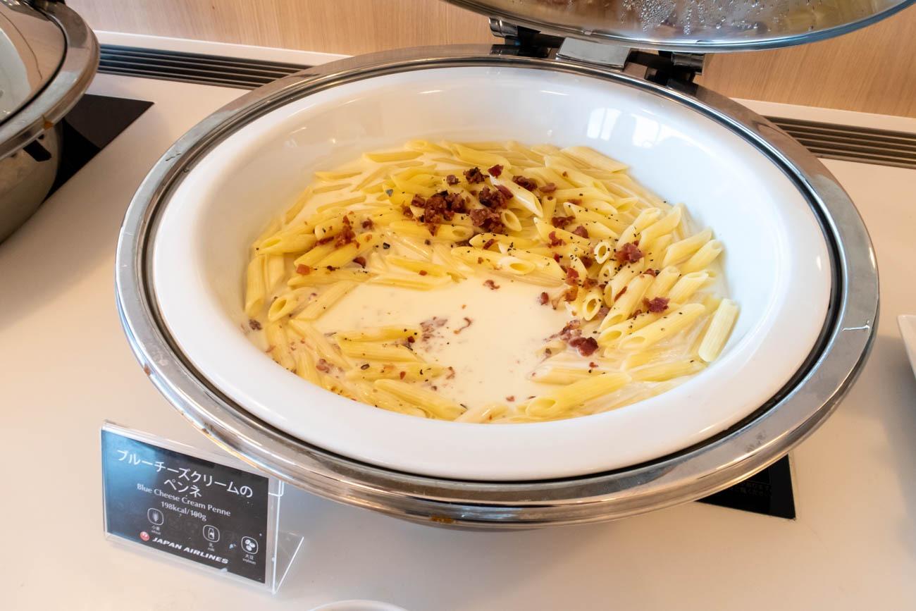 JAL Sakura Lounge Skyview Hot Meal