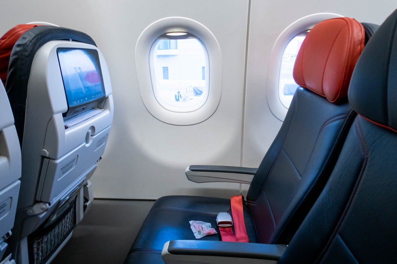 Turkish Airlines A321 Cabin