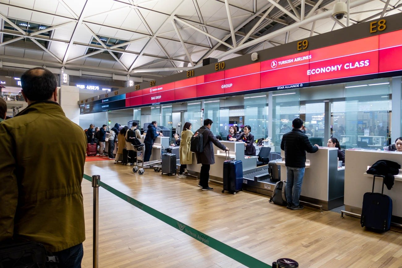 Turkish Airlines Check-in Counters