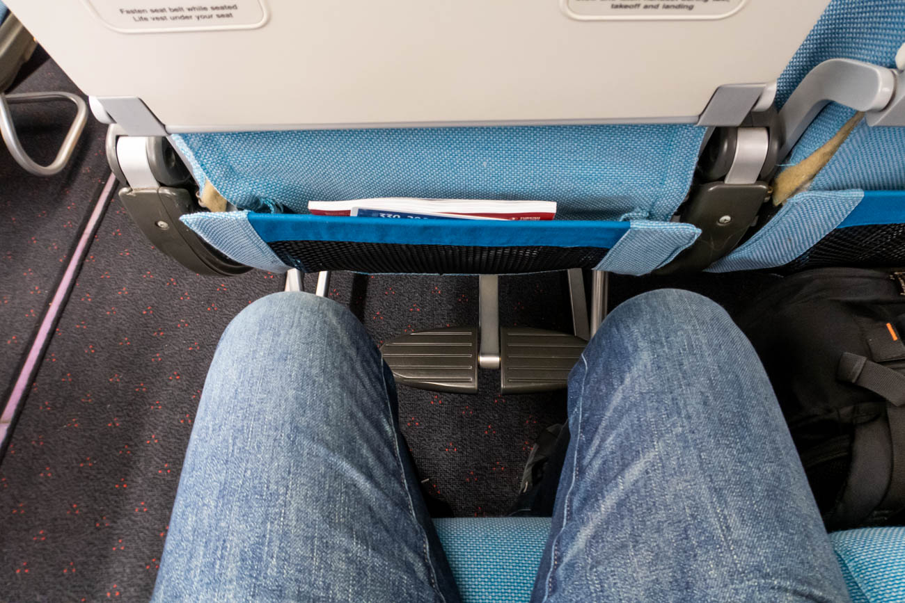 Turkish Airlines A330-300 Economy Class Legroom