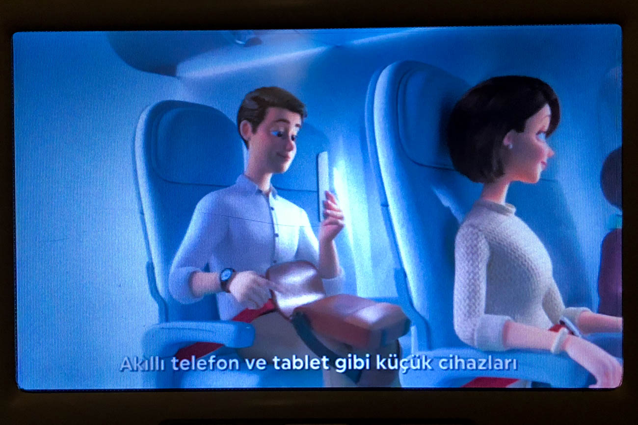 Turkish Airlines Safety Video