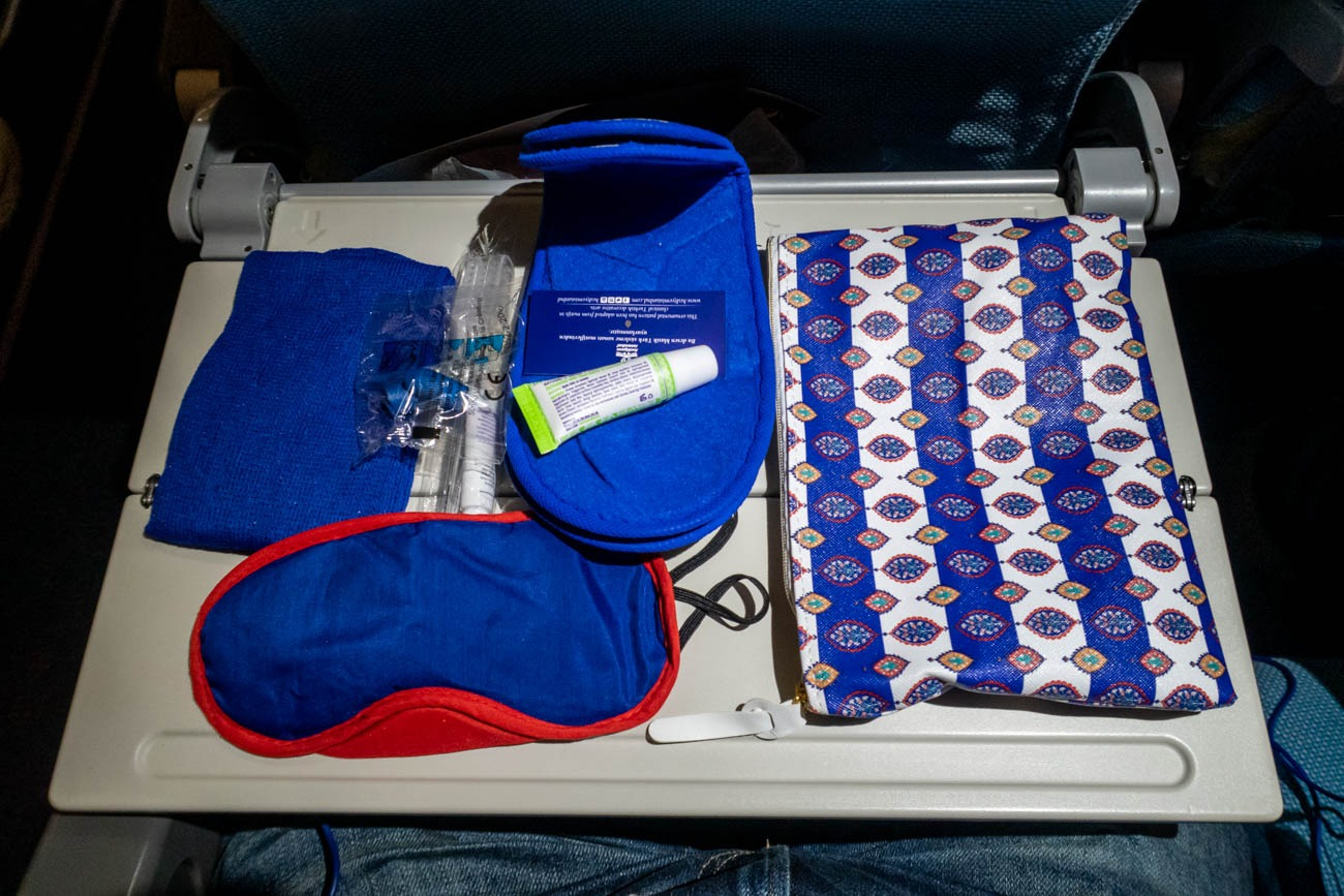 Turkish Airlines Economy Class Amenity Kit