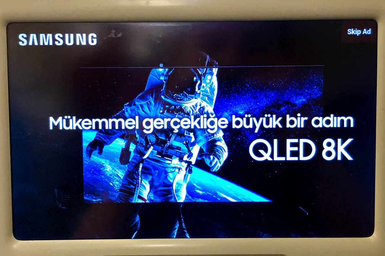 Ad on Turkish IFE